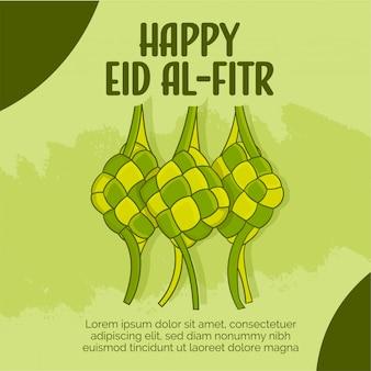 Gelukkig eid al - fitr