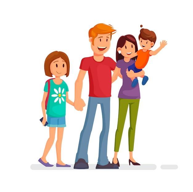 Gelukkig gezin