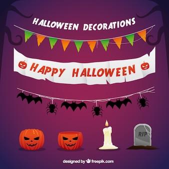 Gelukkig halloween decoraties