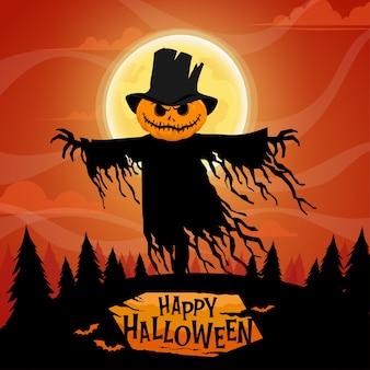 Gelukkig halloween-feest