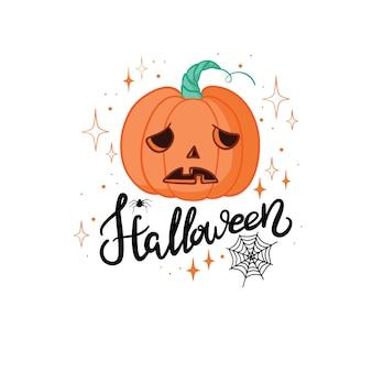 Gelukkig halloween met enge witte geesten