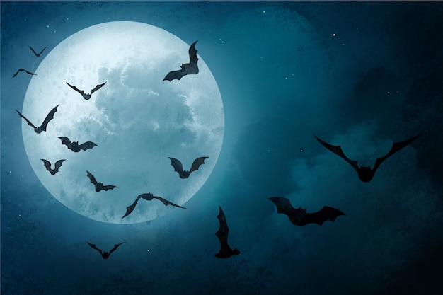 Gelukkig halloween-ontwerp als achtergrond