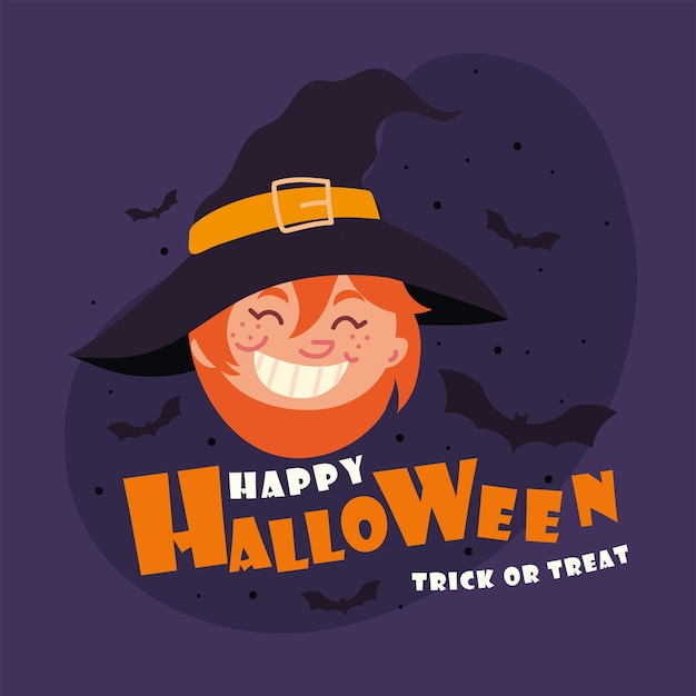 Gelukkig halloweenfeest