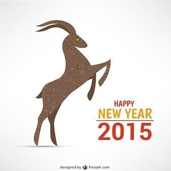 Gelukkig jaar van de geit