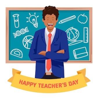 Gelukkig lerarendagviering