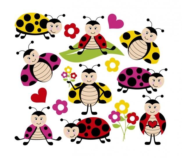 Gelukkig lieveheersbeestjes