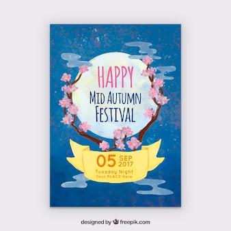 Gelukkig midden herfst festival