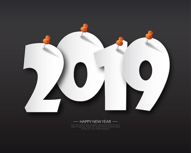 Gelukkig nieuw 2019 jaar