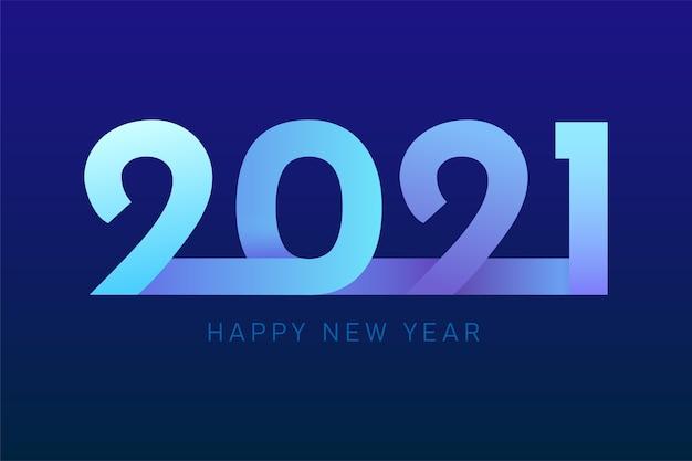 Gelukkig nieuw jaar 2021 voor vakantiebanners. flyers, groeten, uitnodigingen, vectorillustratie.