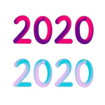 Gelukkig nieuwjaar 2020-tekst