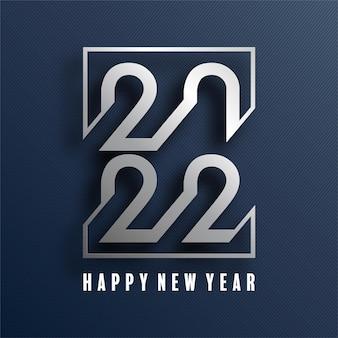 Gelukkig nieuwjaar 2022 achtergrond