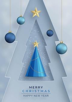 Gelukkig nieuwjaar 2022, feestelijk patroon met kerstballen en sneeuwvlokken concept op kleur achtergrond voor uitnodigingskaart, vrolijk kerstfeest, gelukkig nieuwjaar, wenskaarten, poster of webbanner