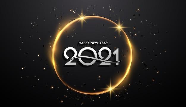 Gelukkig nieuwjaar achtergrond sjabloon