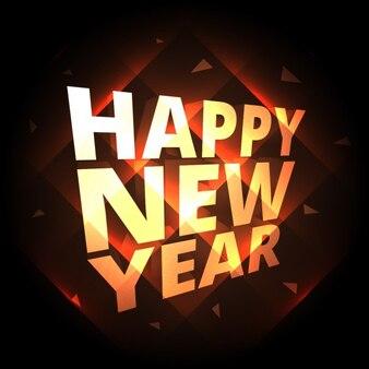 Gelukkig nieuwjaar groet achtergrond