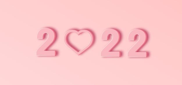 Gelukkig nieuwjaar met liefde
