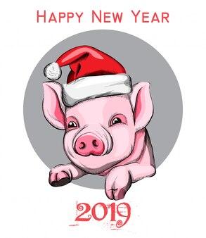 Gelukkig nieuwjaars jaarsymbool