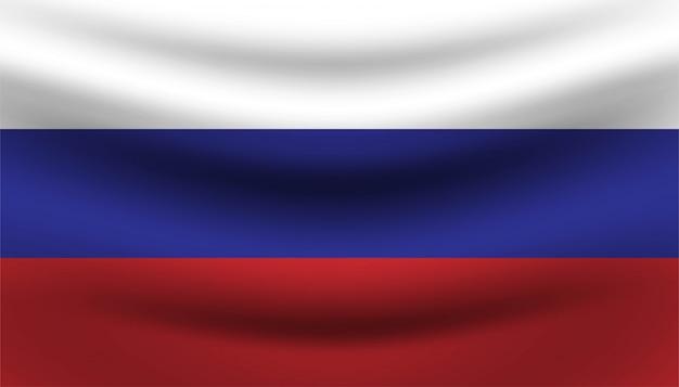 Gelukkig rusland dag achtergrond sjabloon.