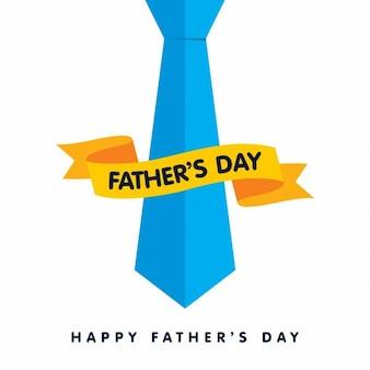 Gelukkig vaders dag blue big band met lint