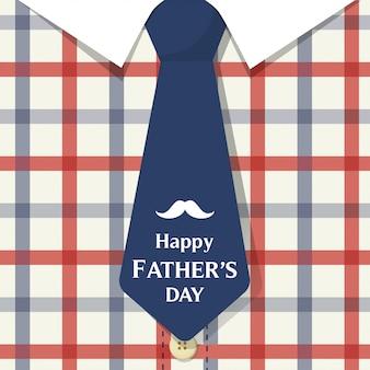 Gelukkig vaders dag kaart