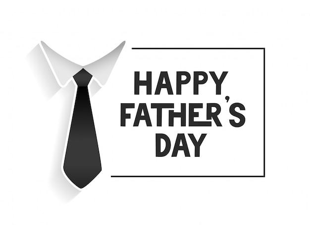 Gelukkig vaders dag sjabloon