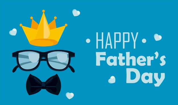 Gelukkig vaders dag wenskaart