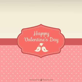 Gelukkig valentijnsdag kaart