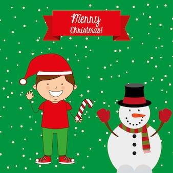 Gelukkig vrolijk kerstfeest