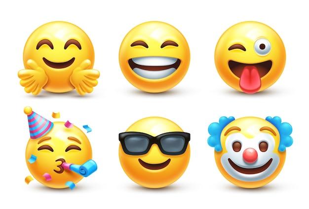 Gelukkige 3d gestileerde emoji