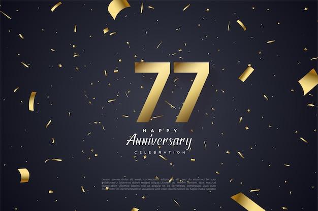 Gelukkige 77e verjaardag