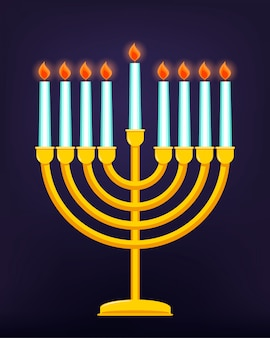 Gelukkige chanoeka, joodse feestdag