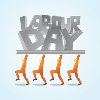 Gelukkige dag van de arbeid wenskaart achtergrond afbeelding