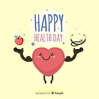 Gelukkige gezondheidsdag