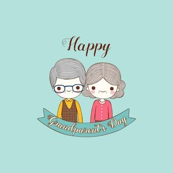 Gelukkige grootouder dag