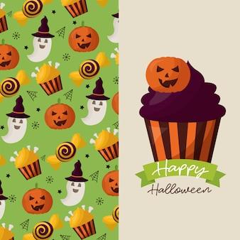 Gelukkige halloween-feestdag