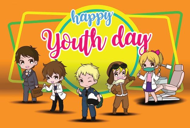 Gelukkige jeugddag