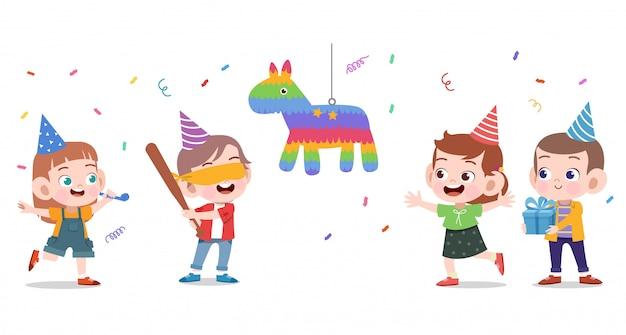 Gelukkige kinderen verjaardag