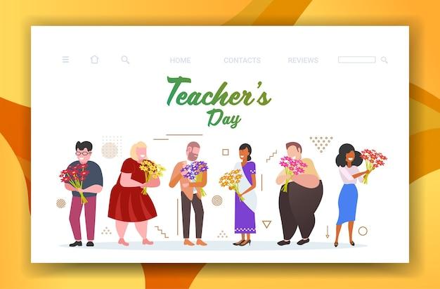 Gelukkige lerarendag vakantieviering