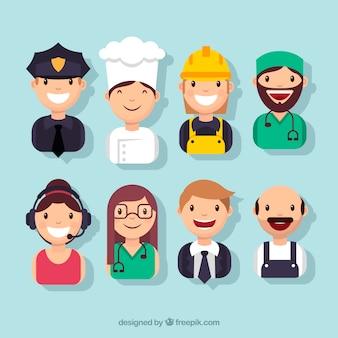 Gelukkige mensen avatar