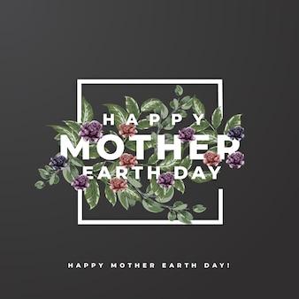 Gelukkige moeder aarde dag!