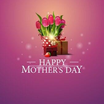 Gelukkige moederdag ansichtkaart