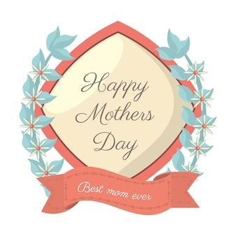 Gelukkige moederdag - beste mama ooit kaart