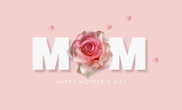 Gelukkige moederdag groet
