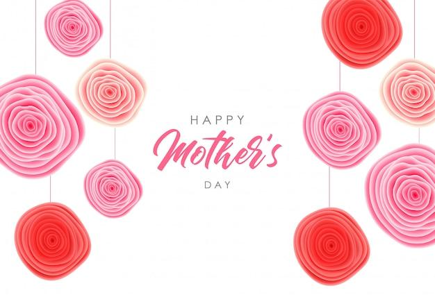 Gelukkige moederdag illustratie