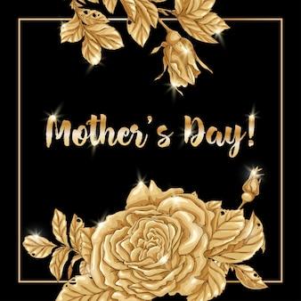 Gelukkige moederdag, verjaardag