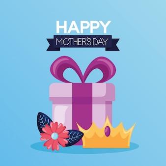 Gelukkige moederdag wenskaart