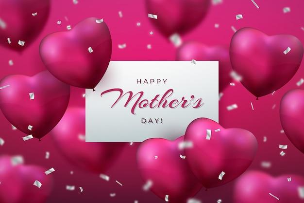 Gelukkige moederdagviering