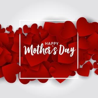 Gelukkige moeders dag wenskaart