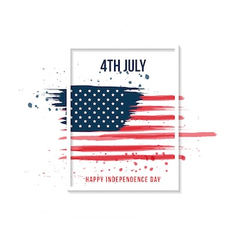Gelukkige onafhankelijkheidsdag. 4 juli.