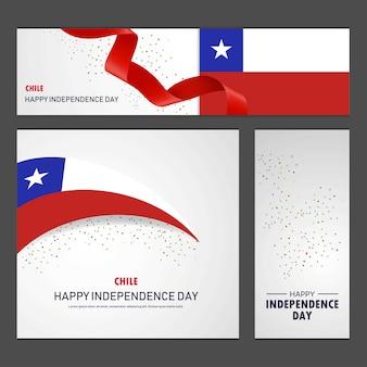 Gelukkige onafhankelijkheidsdag van chili