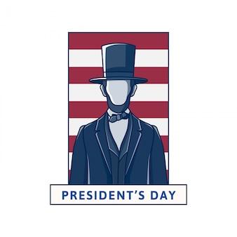 Gelukkige presidenten dag